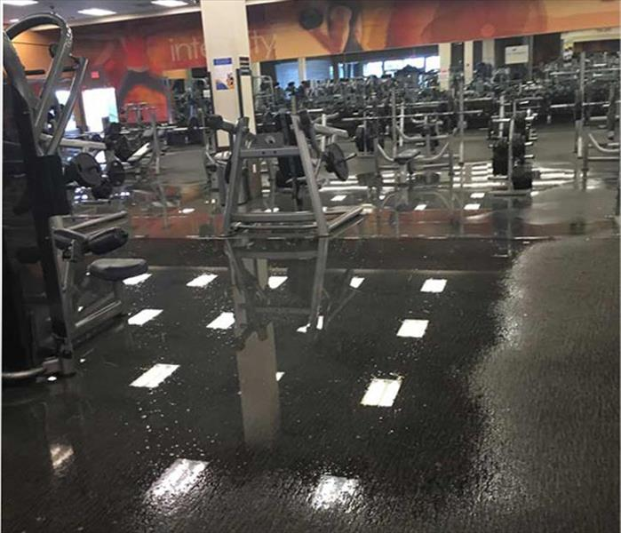 Rexburg Water Removal to a Fitness Center