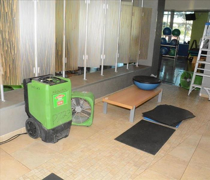 Rigby Water Damage to a Showroom
